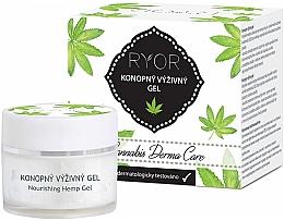 Parfumuri și produse cosmetice Gel facial de cânepă - Ryor Cannabis Derma Care