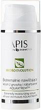Parfumuri și produse cosmetice Ser puternic hidratant cu pere și rubarbă - APIS Professional Hydro Evolution Extremely Moisturizing Serum