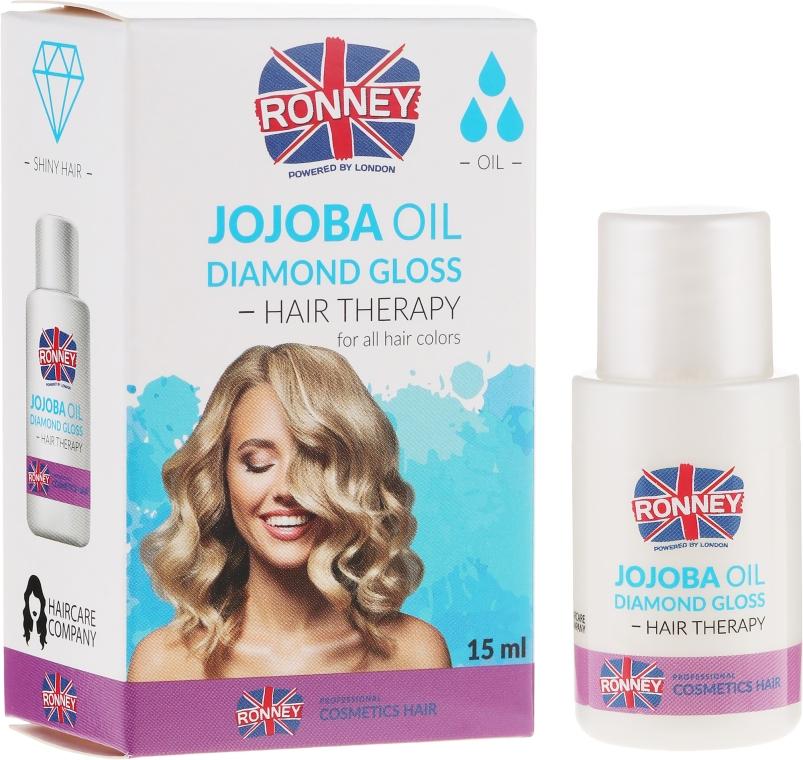 Ulei de jojoba pentru păr - Ronney Jojoba Oil Diamond Gloss Hair Therapy