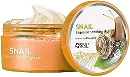 Parfumuri și produse cosmetice Gel nutritiv și hidratant cu mucină de melc pentru față și corp - SNP Intensive Snail Soothing Gel