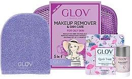 Parfumuri și produse cosmetice Set - Glov Expert Travel Set Oily and Mixed Skin (glove/mini/1pcs + glove/1pcs + stick/40g)