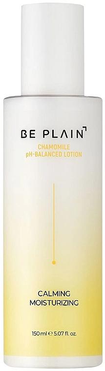Loțiune hidratantă pentru față - Be Plain Chamomile pH-Balanced Lotion — Imagine N1