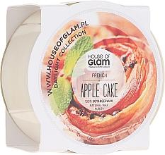 Parfumuri și produse cosmetice Lumânare parfumată - House of Glam French Apple Cake Candle (mini)