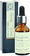 Parfumuri și produse cosmetice Bath House Spanish Fig and Nutmeg - Ulei de barbă