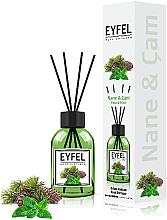 """Parfumuri și produse cosmetice Difuzor de aromă """"Mentă"""" - Eyfel Perfume Reed Diffuser Mint"""