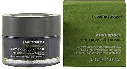 Parfumuri și produse cosmetice Cremă hidratantă și protectoare de față - Comfort Zone Man Space Extra-Protection Cream