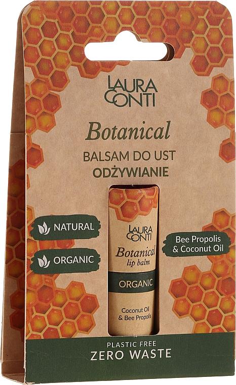 Balsam cu propolis pentru buze - Laura Conti Botanical Lip Balm