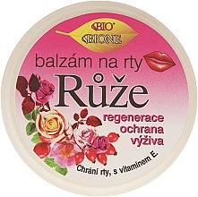 "Parfumuri și produse cosmetice Balsam de buze ""Trandafir"" - Bione Cosmetics Rose Lip Balm"