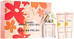 Parfumuri și produse cosmetice Marc Jacobs Daisy Eau So Fresh - Set (edt/75ml + b/lot/75ml + sh/gel/75ml)
