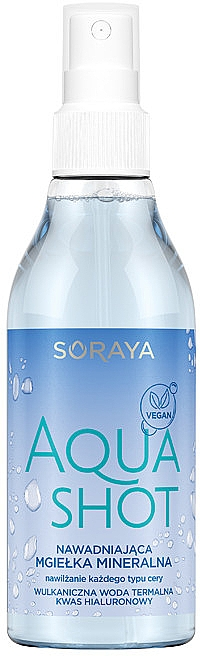 Spray hidratant pentru față - Soraya Aquashot