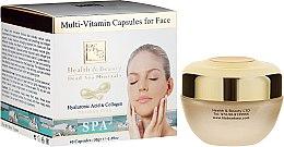 Parfumuri și produse cosmetice Fiole pentru îngrijirea feței - Health And Beauty Multi-Vitamin Capsules For Face