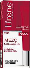 Parfumuri și produse cosmetice Cremă de netezire pentru zona ochilor - Lirene Mezo Collagene