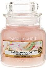 Parfumuri și produse cosmetice Lumânare parfumată în borcan de sticlă - Yankee Candle Rainbow Cookie