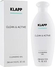Gel de spălare - Klapp Clean & Active Cleansing Gel — Imagine N1