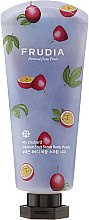 Gel-scrub de duș cu aromă de maracuja - Frudia My Orchard Passion Fruit Scrub Body Wash — Imagine N1