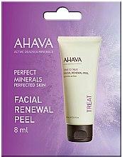 Parfumuri și produse cosmetice Peeling facial - Ahava Time to Treat Facial Renewal Peel (mostră)