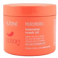 Parfumuri și produse cosmetice Masca pentru păr deteriorat și uscat - H.Zone Option Murumuru Intensivr Mask Oil