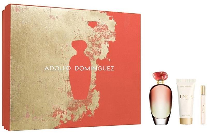 Adolfo Dominguez Unica Coral - Set (edt/100/ml+edt/10/ml+b/lotion/75/ml) — Imagine N1