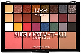 Parfumuri și produse cosmetice Paletă de machiaj - NYX Professional Makeup Such A Know-It-All