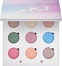 Parfumuri și produse cosmetice Paletă fard de ochi - Ofra Glitch 2000 Baked Eyeshadow Palette