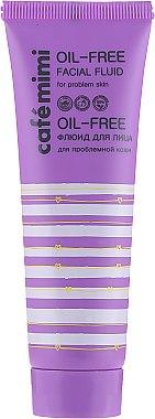 Флюид для лица для проблемной кожи - Cafe Mimi Oil-Free Facial Fluid — фото N2