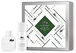 Parfumuri și produse cosmetice Lacoste Eau De L.12.12 Blanc - Set (edt/50ml + deo/150ml)