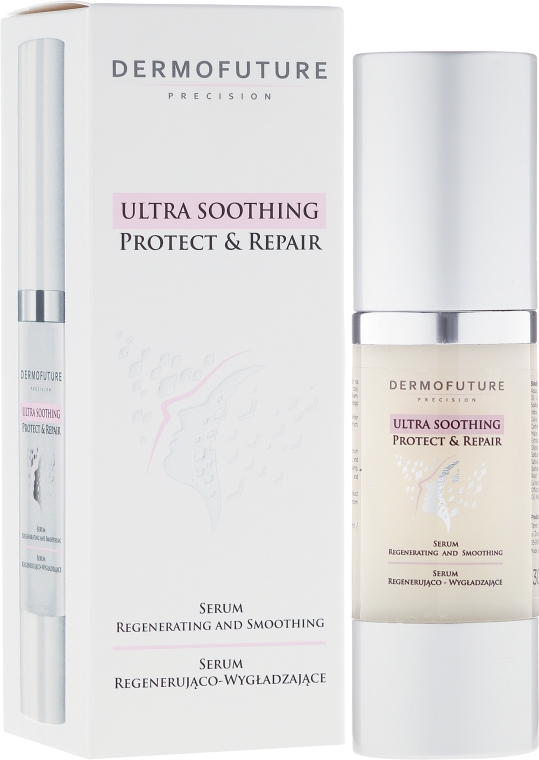 Ser facial regenerant - DermoFuture Ultra Soothing Protect & Repair Serum