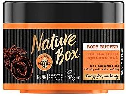 Parfumuri și produse cosmetice Ulei de corp - Nature Box Apricot Oil Body Butter