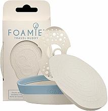 Parfumuri și produse cosmetice Ambalaj ecologic pentru șampon și balsam solid - Foamie Travel Buddy with Removable Shelf