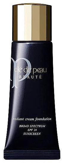 Тональный крем с эффектом естественного сияния - Cle De Peau Beaute Radiant Cream Foundation SPF24 — фото N1