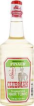 Parfumuri și produse cosmetice Tonic emolient pentru păr - Clubman Pinaud Greaseless Hair Tonic