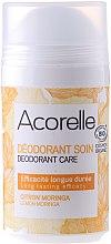 Parfumuri și produse cosmetice Deodorant - Acorelle Deodorant Care Limone & Moringa