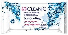 Parfumuri și produse cosmetice Șervețele răcoritoare, 15buc - Cleanic Ice Cooling Wipes