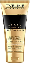 Parfumuri și produse cosmetice Крем-сыворотка для рук и ногтей - Eveline Cosmetics Spa Professional Argan&Vanilla