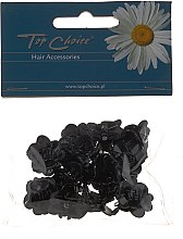 Parfumuri și produse cosmetice Agrafe de păr, 25327, negre - Top Choice