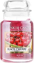 """Parfumuri și produse cosmetice Lumânare parfumată într-un borcan """"Cireașă neagră"""" - Yankee Candle Scented Votive Black Cherry"""