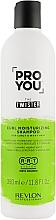 Parfumuri și produse cosmetice Șampon pentru păr creț - Revlon Professional Pro You The Twister Shampoo