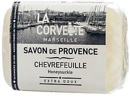 """Parfumuri și produse cosmetice Săpun provensal """"Caprifoi"""" - La Corvette Provence Soap Honeysuckle"""