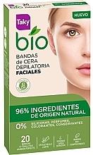 Parfumuri și produse cosmetice Benzi depilatoare pentru față - Taky Bio Natural 0% Face Wax Strips