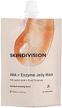 Parfumuri și produse cosmetice Mască-gel exfoliantă - SkinDivision AHA + Enzyme Jelly Mask