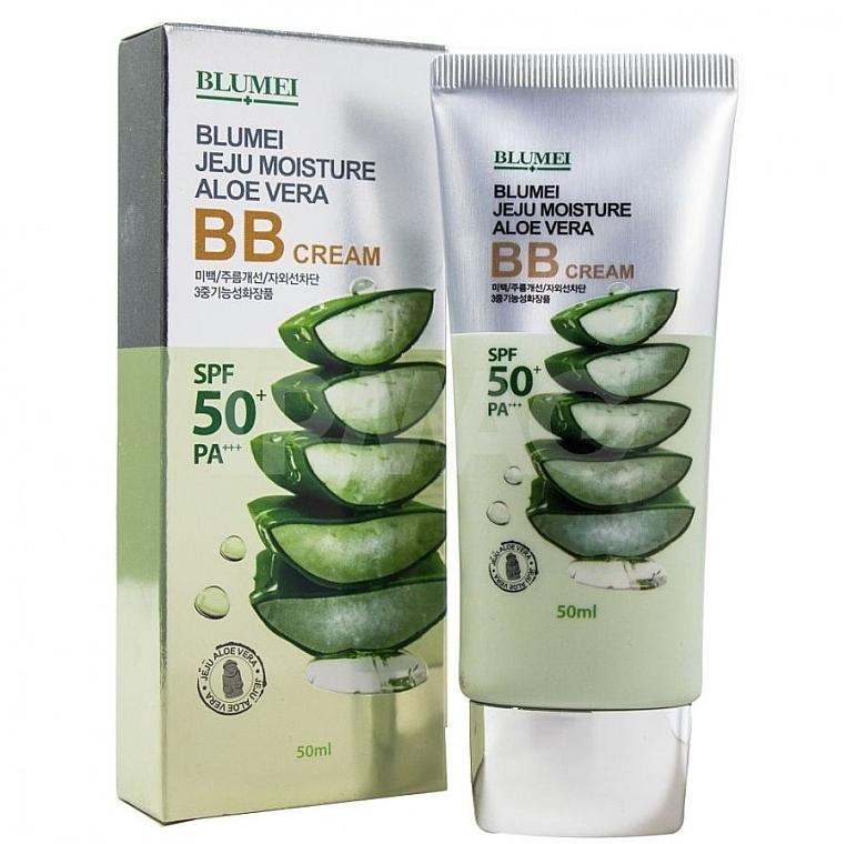 BB cremă cu extract de aloe - Blumei Jeju Moisture Aloe Vera BB Cream