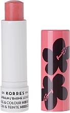 """Parfumuri și produse cosmetice Balsam de buze """"Hibiscus"""" - Korres Lip Care & Colour Stick Hibiscus"""