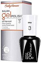 Parfumuri și produse cosmetice Strat de acoperire (Top Gel) pentru Oja semipermanentă - Sally Hansen Salon Gel Polish Gel Top Coat