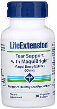 Parfumuri și produse cosmetice Supliment nutritiv cu extract de Aristotelia pentru ochi - Life Extension Tear Support with MaquiBright