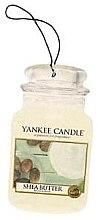 """Parfumuri și produse cosmetice Aromatizator """"Unt de shea"""" - Yankee Candle Shea Butter Car Jar Ultimate"""