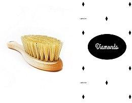Parfumuri și produse cosmetice Set - LullaLove Romby (hair brush + muslin)