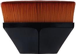 Parfumuri și produse cosmetice Pensulă pentru fond de ten, neagră - Lewer