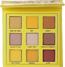 Палетка теней для век, 9 цветов - Makeup Obsession Shadow Palette — фото N1