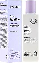 Parfumuri și produse cosmetice Emulsie pentru nivelarea tonului feței - It's Skin Glow Routine Moisturizer