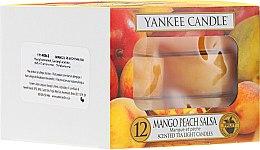 Parfumuri și produse cosmetice Lumânări pastile - Yankee Candle Scented Tea Light Candles Mango Peach Salsa